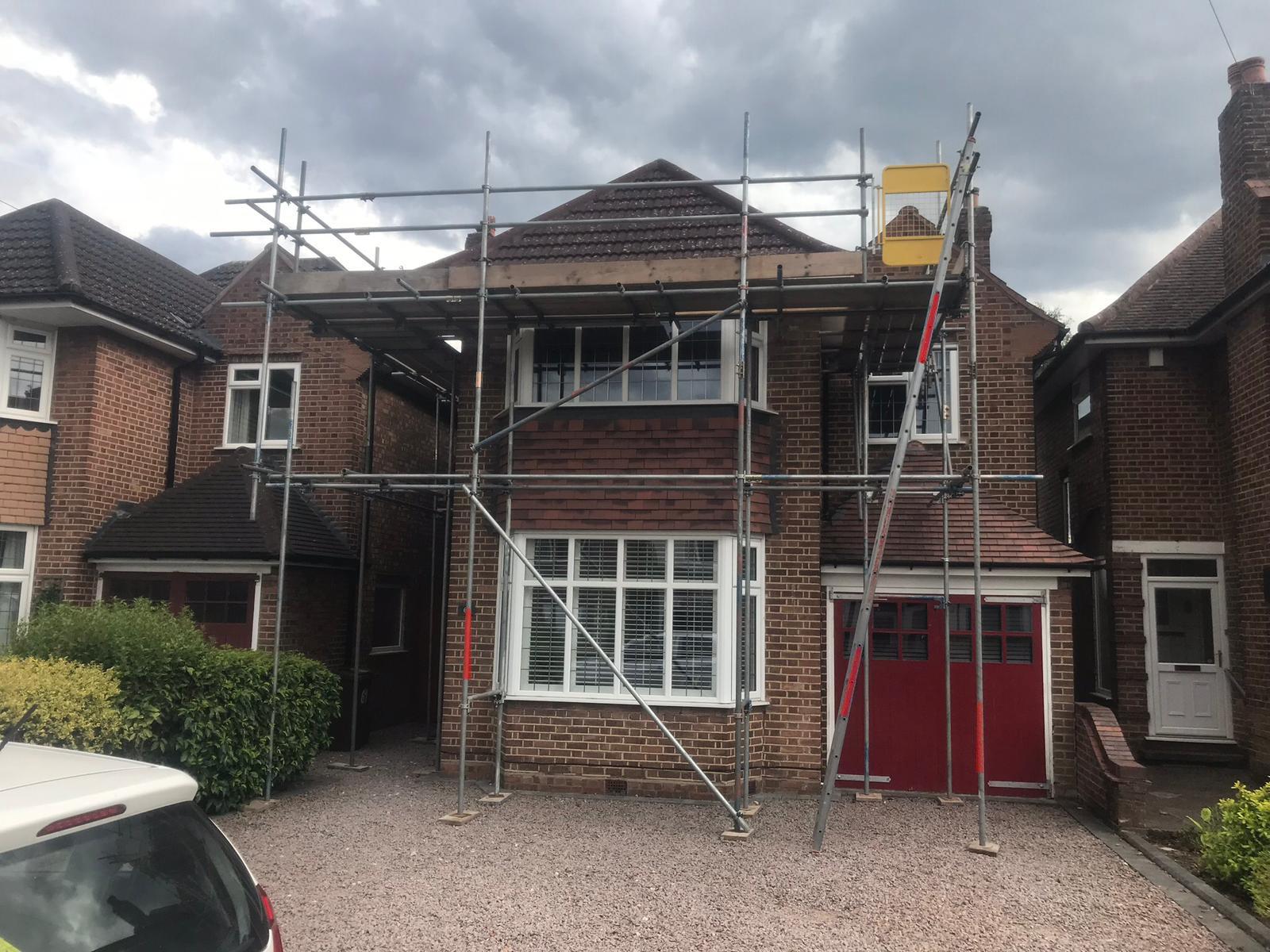 ajd scaffolding DOMESTIC SCAFFOLDING