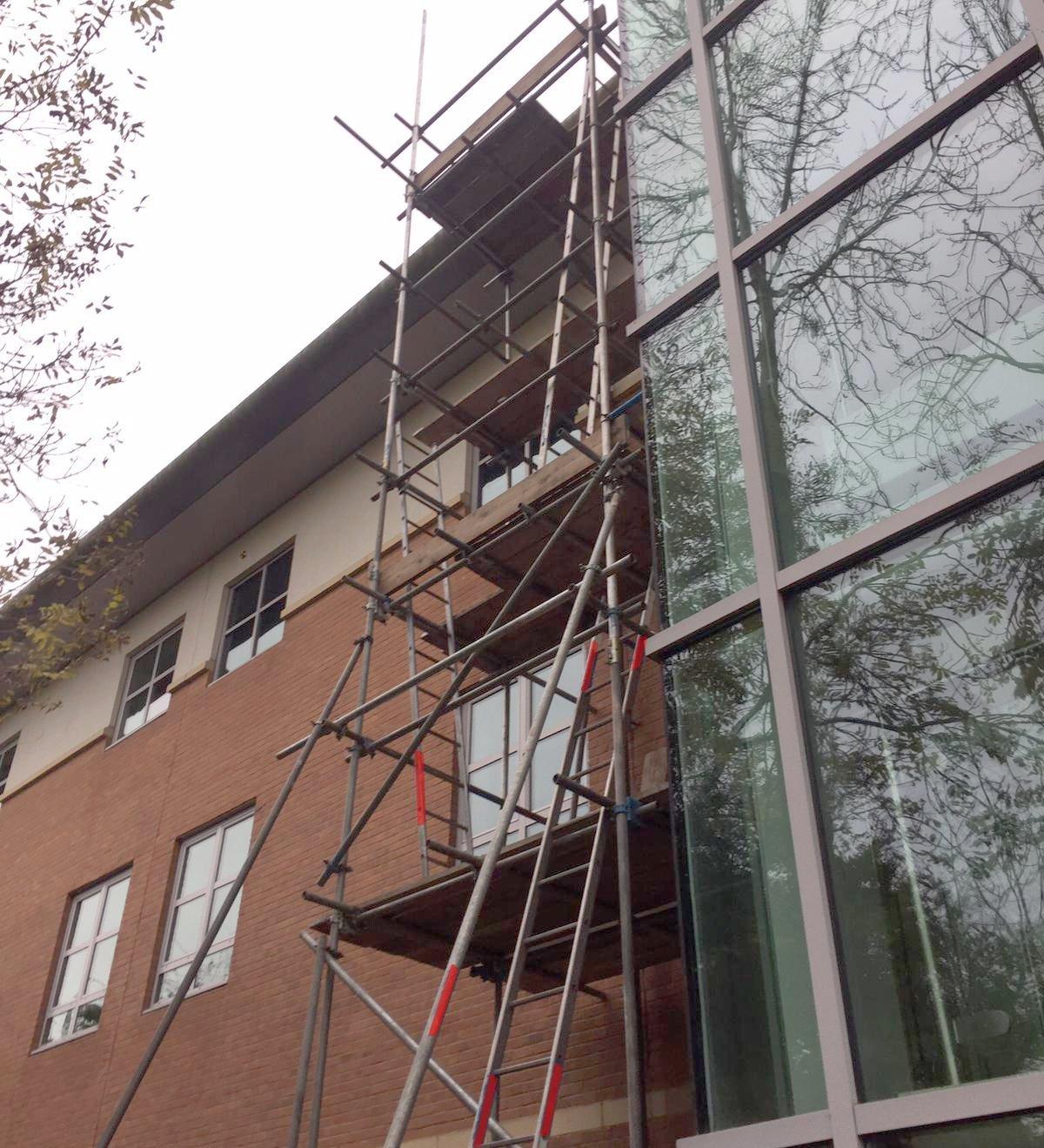 commerciel scaffolding ajd in birmingham