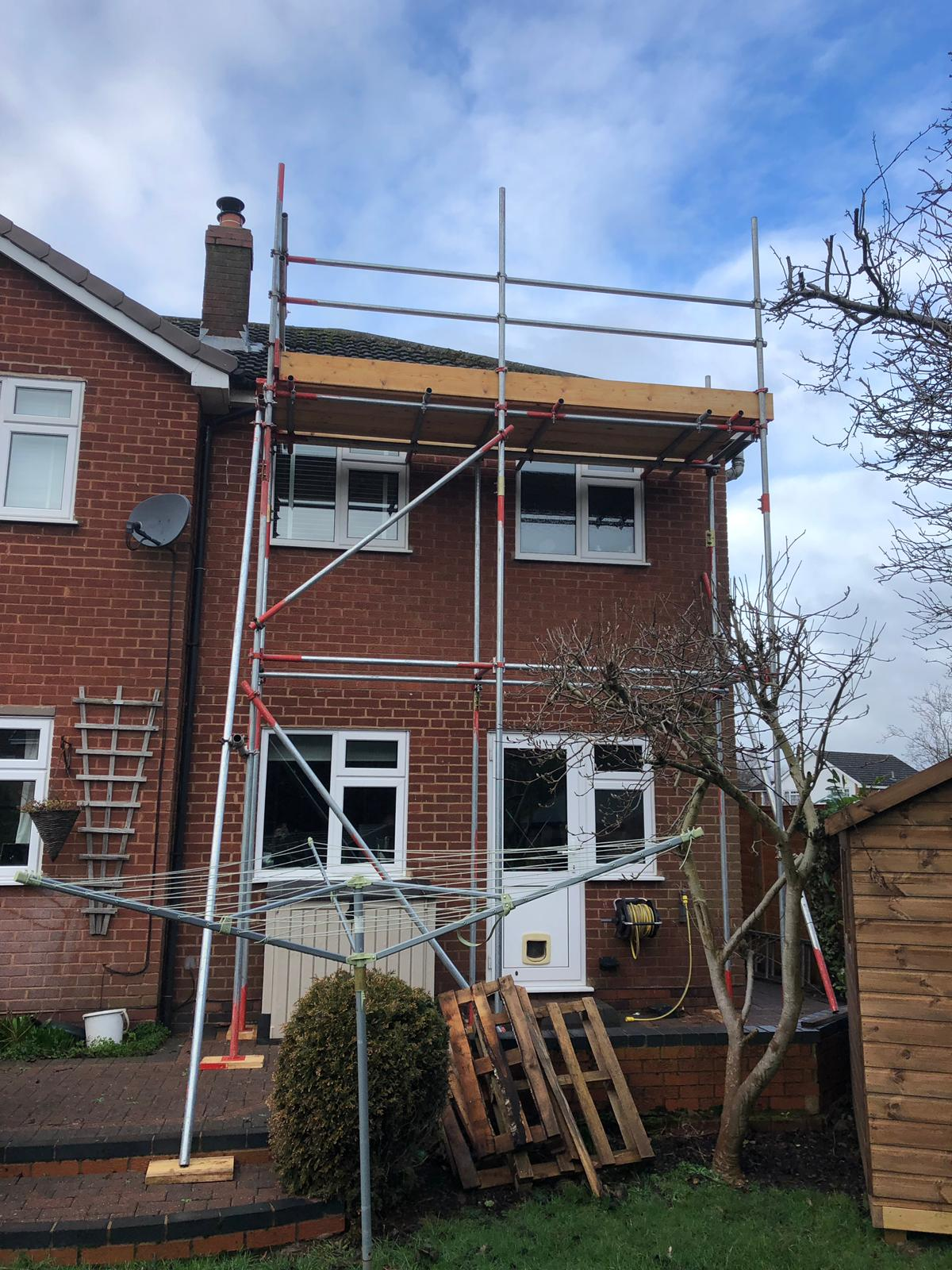 home front scaffolding